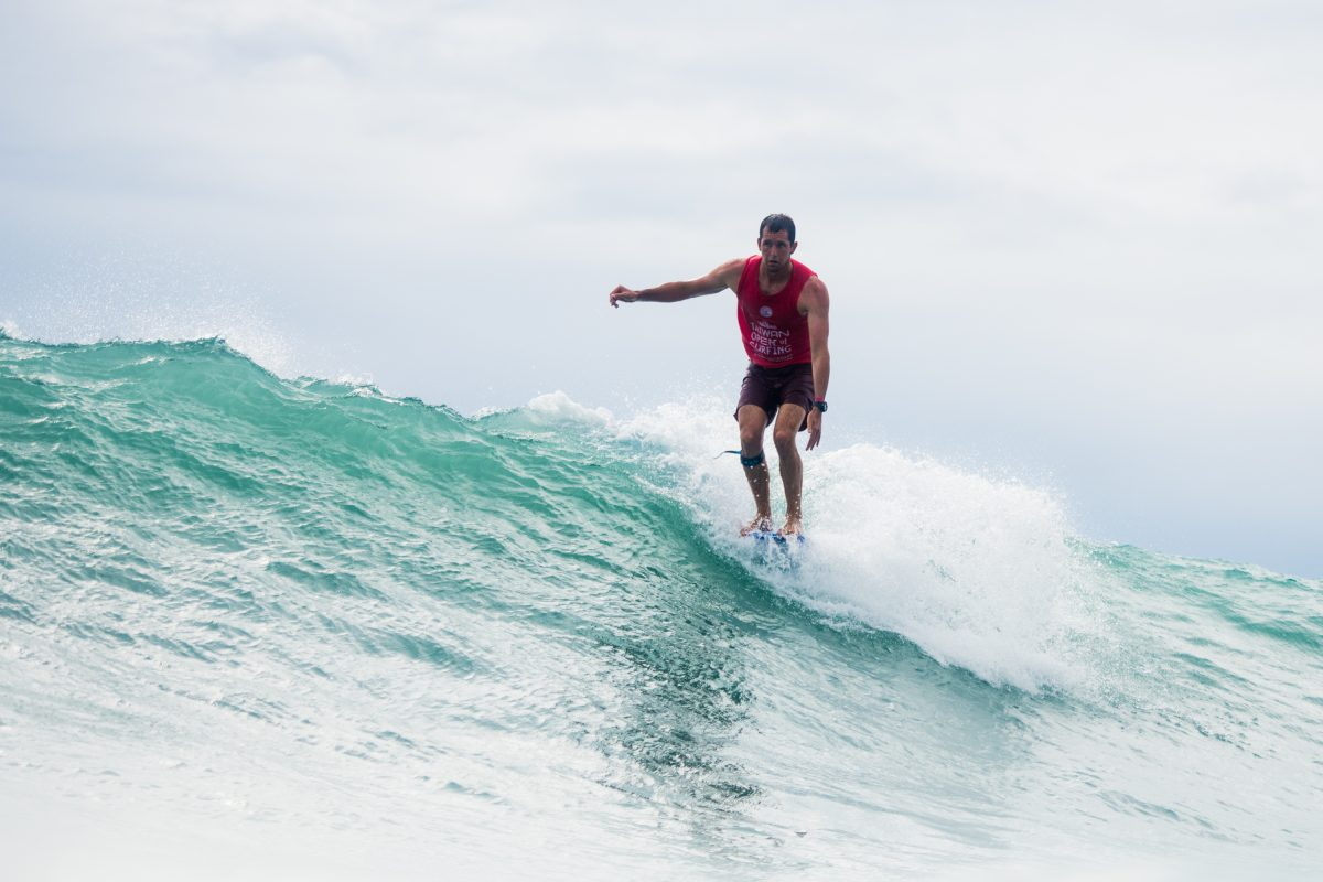 Harley Ingleby At the 2018 Taiwan Open Of Surfing World Longboard Championships.
